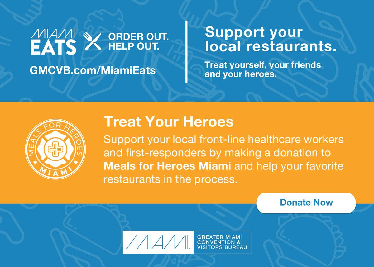 Miami Eats - Treat Your Heroes