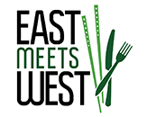 East Meets West festival logo
