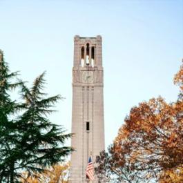 Memorial Belltower at North Carolina State University