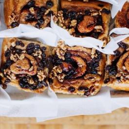 Delicious-looking cinnamon buns