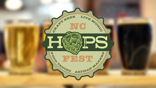 N.C. Hops Fest logo