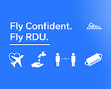 Fly Confident. Fly RDU.