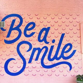 Be a Smile mural