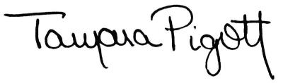 Tamara Pigott Signature