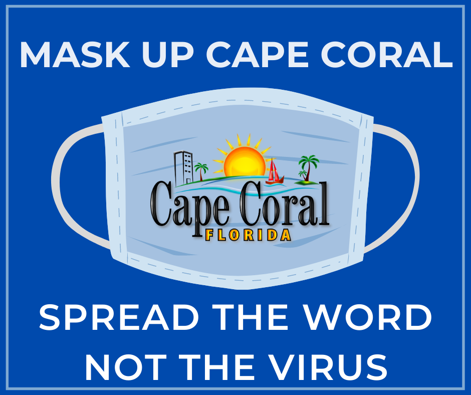 Mask up Cape Coral
