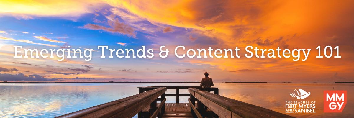 Social Media Webinar #2: Emerging Trends  & Content Strategy 101