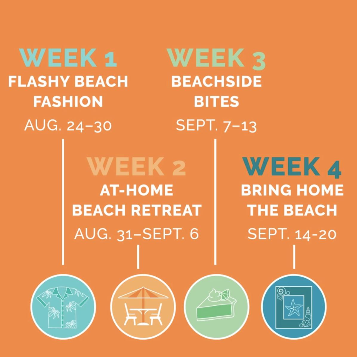 #BeachReadySpiritWeek