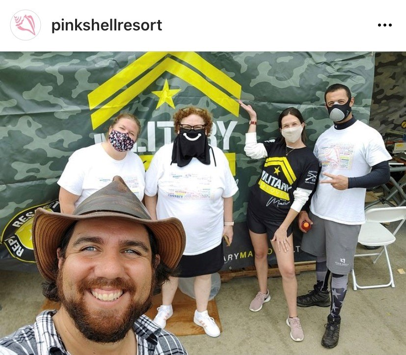 Pink Shell Resort members volunteer with Military Makeover TV
