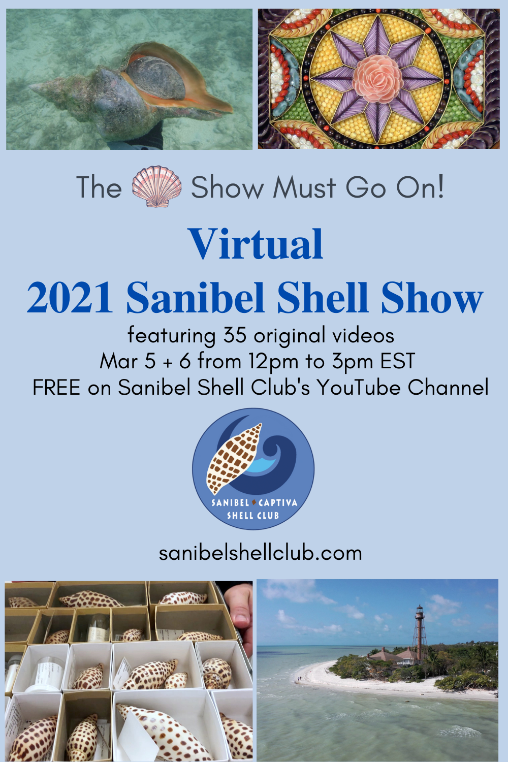 2021 Virtual Sanibel Shell Show