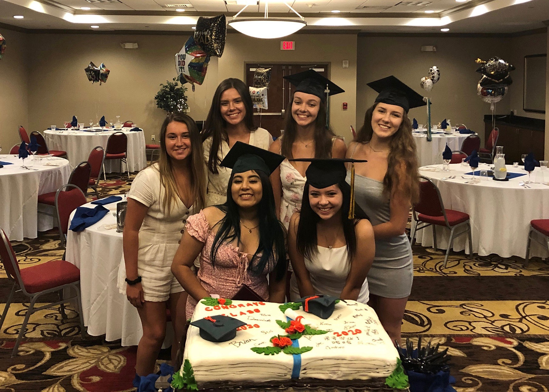 Holiday Inn Fort Myers Airport @ Town Center hosts graduation party for graduating employees