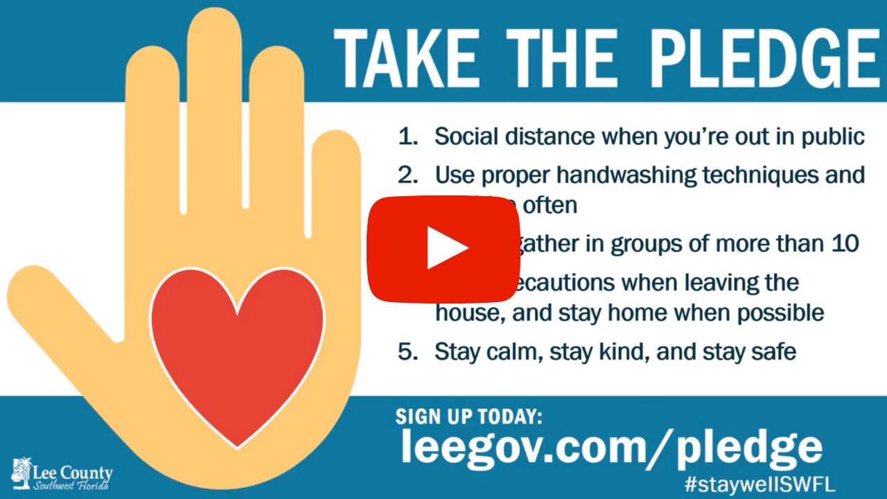 Updated Lee County Take the Pledge Video