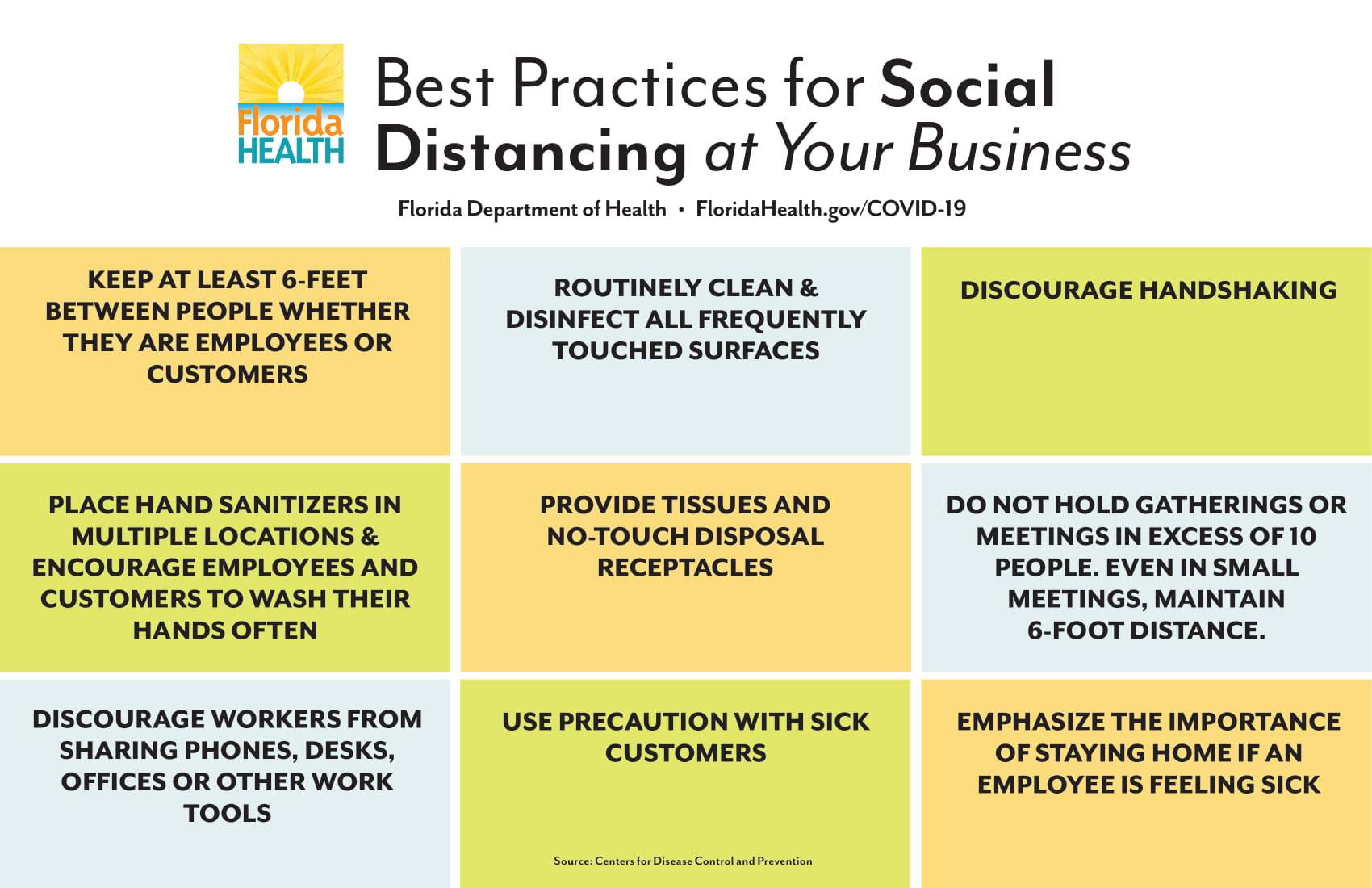 Best practices for social distancing at your business