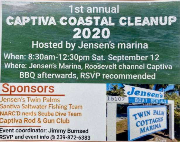 Jensen's coastal cleanup