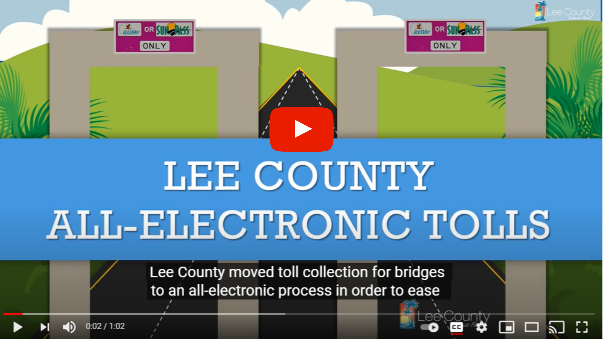Lee County All-Electronic Tolls