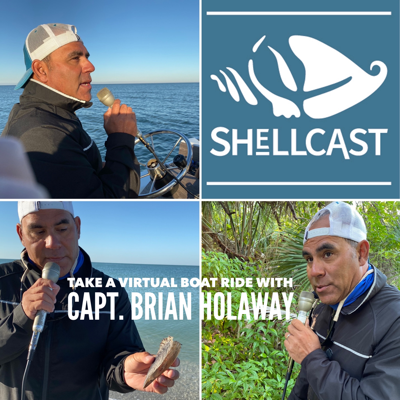 Shellcast podcast with Capt. Brian Holaway