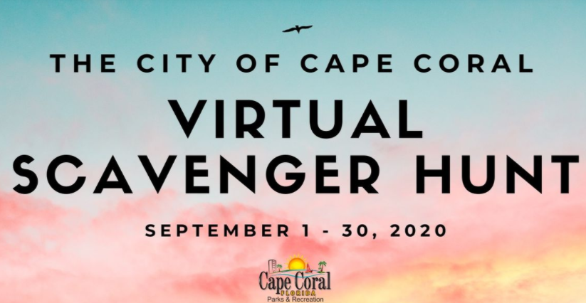Cape Coral virtual scavenger hunt