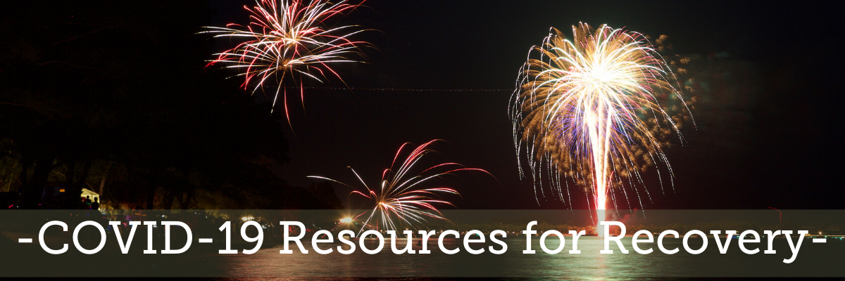 Covid-19 Resources for Recovery newsletter