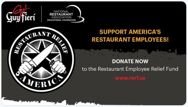 Restaurant Relief America campaign