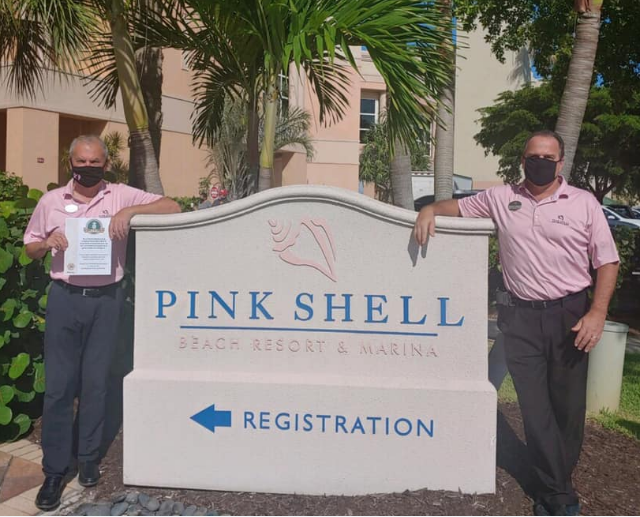 Pink Shell earns FRLA Seal of Commitment