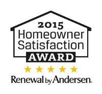 2015 Homeowner Satisfaction Award